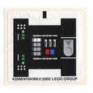 LEGO Sticker Sheet for Set 8010 (42666)