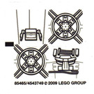 LEGO Sticker Sheet for Set 8017 (85465)