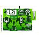 LEGO Sticker Sheet for Set 8114 (62021)
