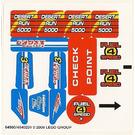 LEGO Sticker Sheet for Set 8126 (64980)