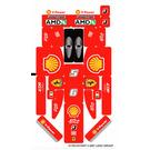 LEGO Sticker Sheet for Set 8142 (Alice Version) (61764)
