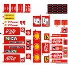 LEGO Sticker Sheet for Set 8157 (63058)