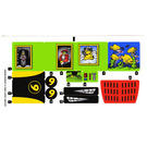 LEGO Sticker Sheet for Set 8160 (63659)