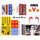 LEGO Sticker Sheet for Set 8161 (63591)