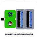 LEGO Sticker Sheet for Set 8188 (89290)