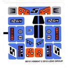 LEGO Sticker Sheet for Set 8193 (88151)