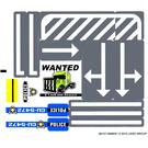 LEGO Sticker Sheet for Set 8196 (88157)