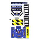 LEGO Sticker Sheet for Set 8197 (88160)