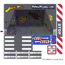 LEGO Sticker Sheet for Set 8198 (88161)