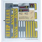 LEGO Sticker Sheet for Set 8199 (88163)