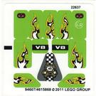 LEGO Sticker Sheet for Set 8302 (94607)
