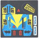 LEGO Sticker Sheet for Set 8494 (61669)
