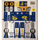 LEGO Sticker Sheet for Set 8636 (64562)