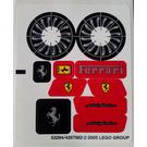 LEGO Sticker Sheet for Set 8653 (53294)