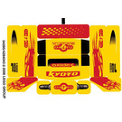 LEGO Sticker Sheet for Set 8666 (54395)
