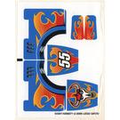 LEGO Sticker Sheet for Set 8668 (54397)