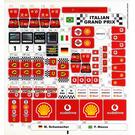 LEGO Sticker Sheet for Set 8672 (57272)