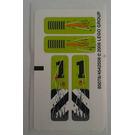 LEGO Sticker Sheet for Set 8956 (85078)