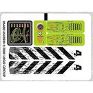 LEGO Sticker Sheet for Set 8959 (85466)