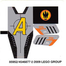 LEGO Sticker Sheet for Set 8967 (85952)