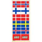 LEGO Sticker Sheet for Set 940