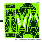 LEGO Sticker Sheet for Set 9447 (10751)