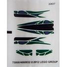 LEGO Sticker Sheet for Set 9456 (75868)