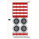 LEGO Sticker Sheet for Set 9493 (71920)