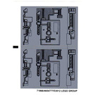 LEGO Sticker Sheet for Set 9495 (71866)