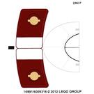 LEGO Sticker Sheet for Set 9526 (10991)