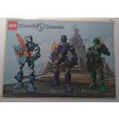 LEGO Sticker Sheet - Knights Kingdom II Jayko, Danju, Rascus (52491)
