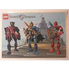 LEGO Sticker Sheet - Knights Kingdom II Vladek, King Mathias, Santis (52489)