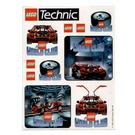 LEGO Sticker Sheet - Lego World Club Technic