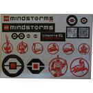 LEGO Sticker Sheet - Mindstorms EV3 Promotion