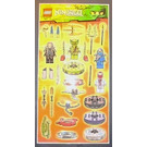LEGO Sticker Sheet Ninjago (6012113)