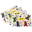 LEGO Sticker Sheet - Ninjago Wall Stickers (851348)