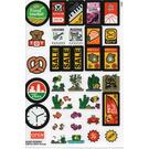 LEGO Sticker Sheet No.2 from 853921