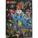 LEGO Sticker Sheet - Power Miners