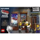 LEGO Sticker Sheet - The Lego Movie Poster Sticker (5002891)