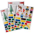 LEGO Sticker Sheet - Wall Stickers (850797)