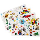 LEGO Sticker Sheet - Wall Stickers (851402)