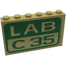 LEGO Stickered Assembly from Set 4851