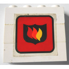 LEGO Stickered Assembly with Fire Logo