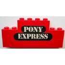 LEGO Stickered Assembly with Pony Express Sticker