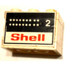 LEGO Stickered Assembly with Shell 2