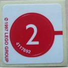 LEGO Stickersheet (set 1247 and 2536)