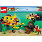 LEGO Sting Ray Explorer Set 6442 Instructions