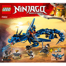 LEGO Stormbringer Set 70652 Instructions