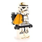 LEGO Stormtrooper with Orange Pauldron, Re-Breather, Dirt Stains, Printed Head Minifigure