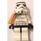 LEGO Stormtrooper with Pauldron Minifigure with Black head and Dotted Mouth